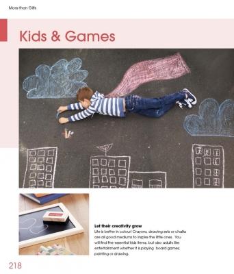 Рекламни игри и детски рекламни материали More Than Gifts Kids and Games